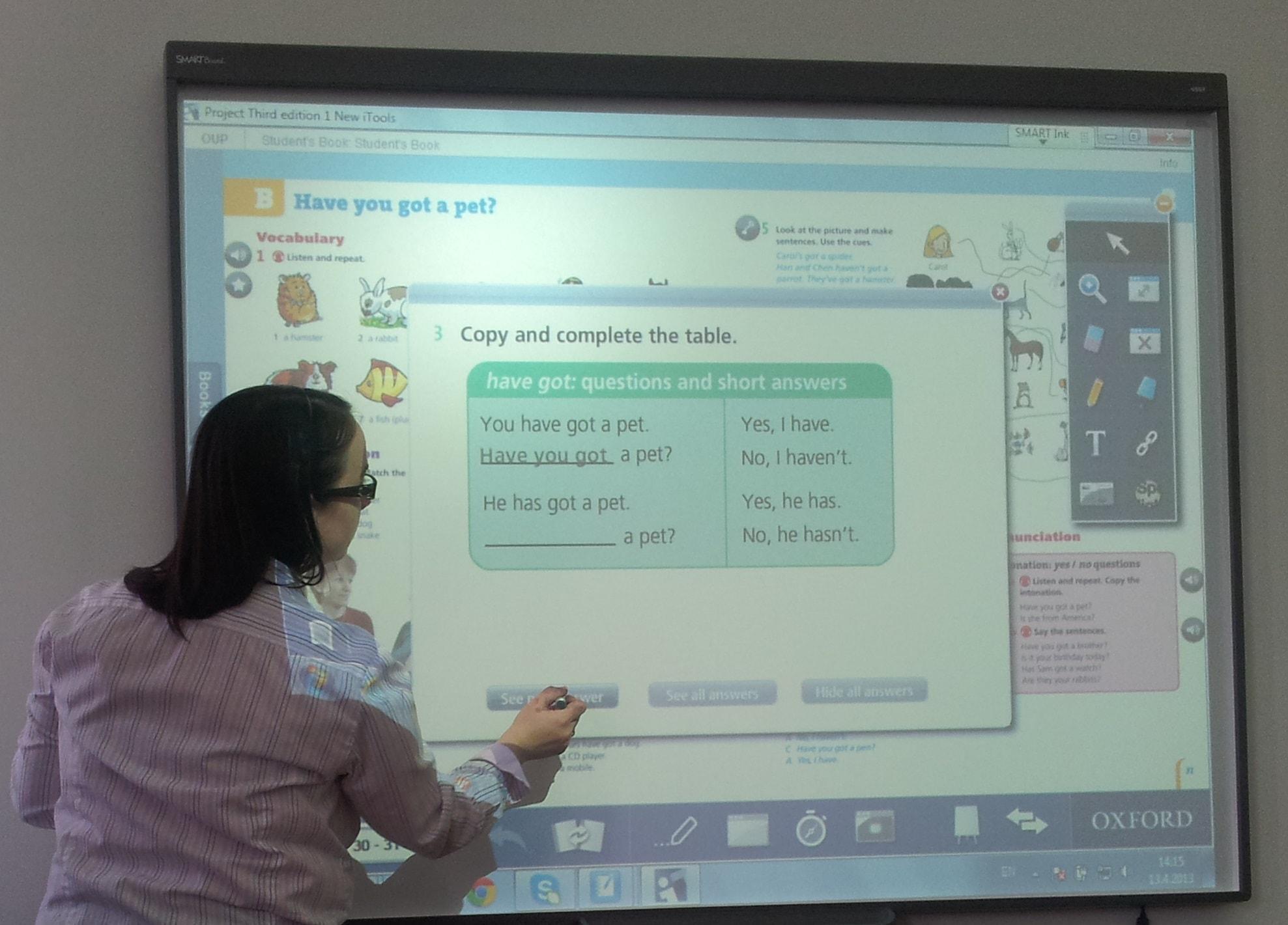 Primena interaktivne table u nastavi